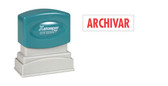 Spanish ARCHIVAR (FILE) Xstamper®