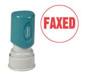 Round FAXED Xstamper®