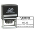 View of 2000 Plus Printer 55 Self-Inking Dater from Cool School Studios.