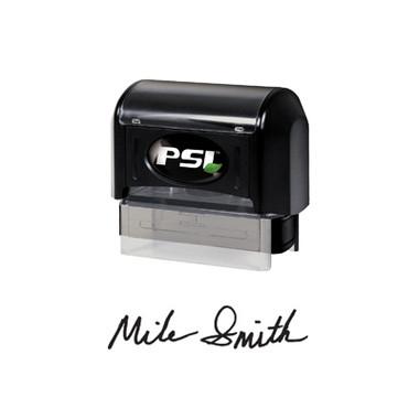 View of Cool School Studios XStamper Medium Pre-Inked Signature Stamp (PSI 1854) (EFSIGMEPSI).