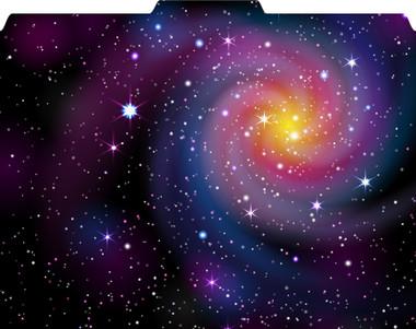 Image of Galaxy File-'N Style designer folder, folded view.