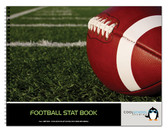 Cover of the Football Stat Book - 12 Games - from Cool School Studios (Item # BR 519).