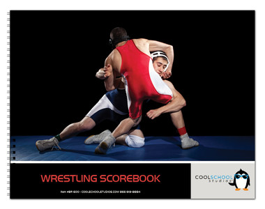 Image shows cover of Wrestling Scorebook (25 matches) from Cool School Studios (BR600).