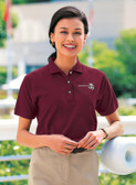 Shown is Ladies BAW Xtreme-Tek Polo (Cool School Studios BAW-XT47).