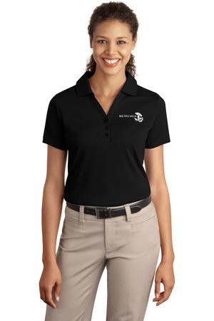 Shown is the Ladies Port Authority® Silk Touch Y-Placket Polo (L520) from Cool School Studios.