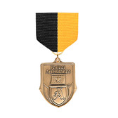 Black & Gold Medal Pin Drapes - Priced Each Starting at 12