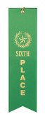 Shown is Sixth Place Ribbon (Cool School Studios 090012).