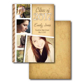 Shown is Senior Announcement Style 01 Little Bit Country from Cool School Studios.