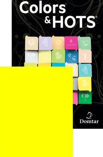 Shown is HOTS® Color Paper in Lemon (Cool School Studios 17450).