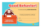 Shown is the YOU'RE A STAR Good Behavior Award (Cool School Studios 03010).
