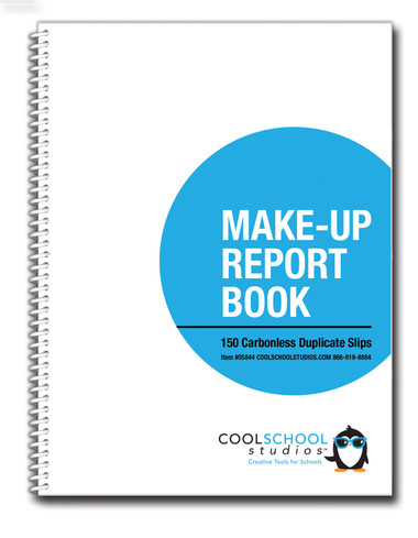 Image shows cover of Make-Up Report Book (05844).