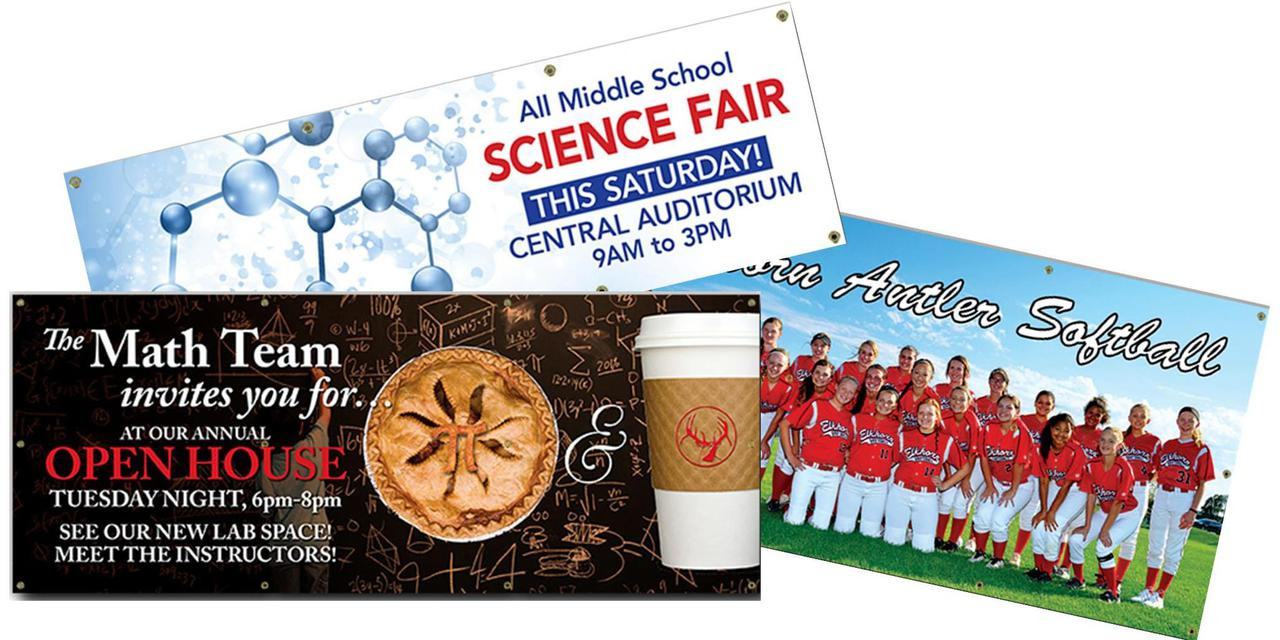 4 x 10 full color banner cool school studios