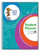 One-Color Undated Student Planner, Spiral Bound