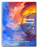 Full-Color Middle School Dated Student Planner