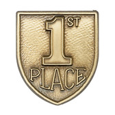 1st Place - Die-Struck 100, 400 & 500 Medal Inserts - Priced Each Starting at 12