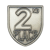 2nd Place - Die-Struck 100, 400 & 500 Medal Inserts - Priced Each Starting at 12