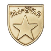 All-Star - Die-Struck 100, 400 & 500 Medal Inserts - Priced Each Starting at 12