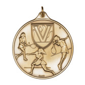 F Tennis - 400 Series Medal - Priced Each Starting at 12