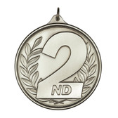 2nd Place - 500 Series Medal - Priced Each Starting at 12