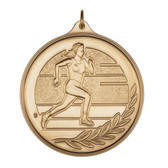 F Track & Field - 500 Series Medal - Priced Each Starting at 12