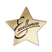 "Shown is the ""Excellence"" Star Series Medallion (Cool School Studios SS077M)."