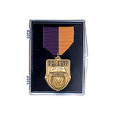 "Medal Display Case 2 1/2"" x 3 1/2"" - Priced Each Starting at 12"