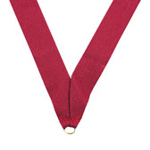 Maroon Medal Neck Ribbon - Priced Each Starting at 12