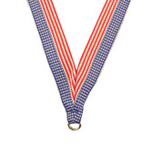 Stars and Stripes Medal Neck Ribbon - Priced Each Starting at 12