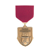 Maroon Medal Pin Drapes - Priced Each Starting at 12