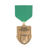 Kelly Green Medal Pin Drapes - Priced Each Starting at 12