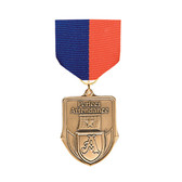 Blue & Orange Medal Pin Drapes - Priced Each Starting at 12