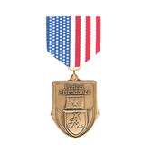 Stars & Stripes Medal Pin Drapes - Priced Each Starting at 12