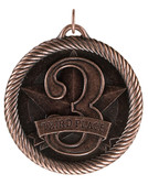 Third Place - Value Medal - Bronze Only - Priced Each Starting at 12