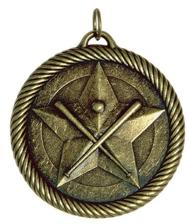 0938 Baseball Value Medal from Cool School Studios.