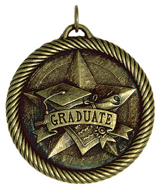 0957 Graduate Value Medal from Cool School Studios.