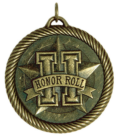 0960 Honor Roll Value Medal from Cool School Studios.