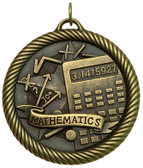 Mathematics - Value Medal - Priced Each Starting at 12