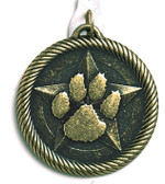 Paw Print - Value Medal - Priced Each Starting at 12