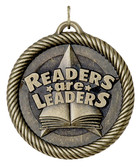 Readers are Leaders - Value Medal - Gold Only - Priced Each Starting at 12