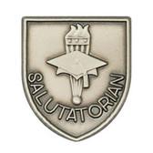 Salutatorian - Die-Struck 100, 400 & 500 Medal Inserts - Priced Each Starting at 12