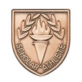Scholar Athlete - Die-Struck 100, 400 & 500 Medal Inserts- Priced Each Starting at 12