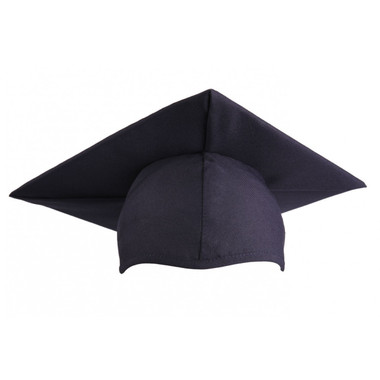 Shown is child matte navy blue cap (Cool School Studios 0518), front view.