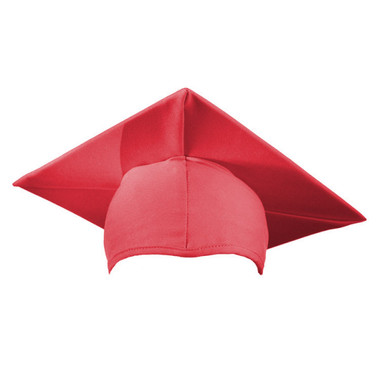 Shown is child matte pink cap (Cool School Studios 0527), front view.