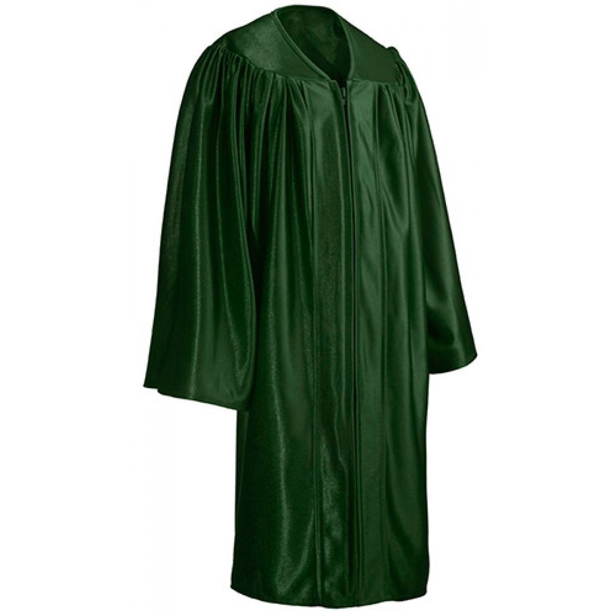 Child Shiny Forest Green Cap Gown Tassel Cool School Studios