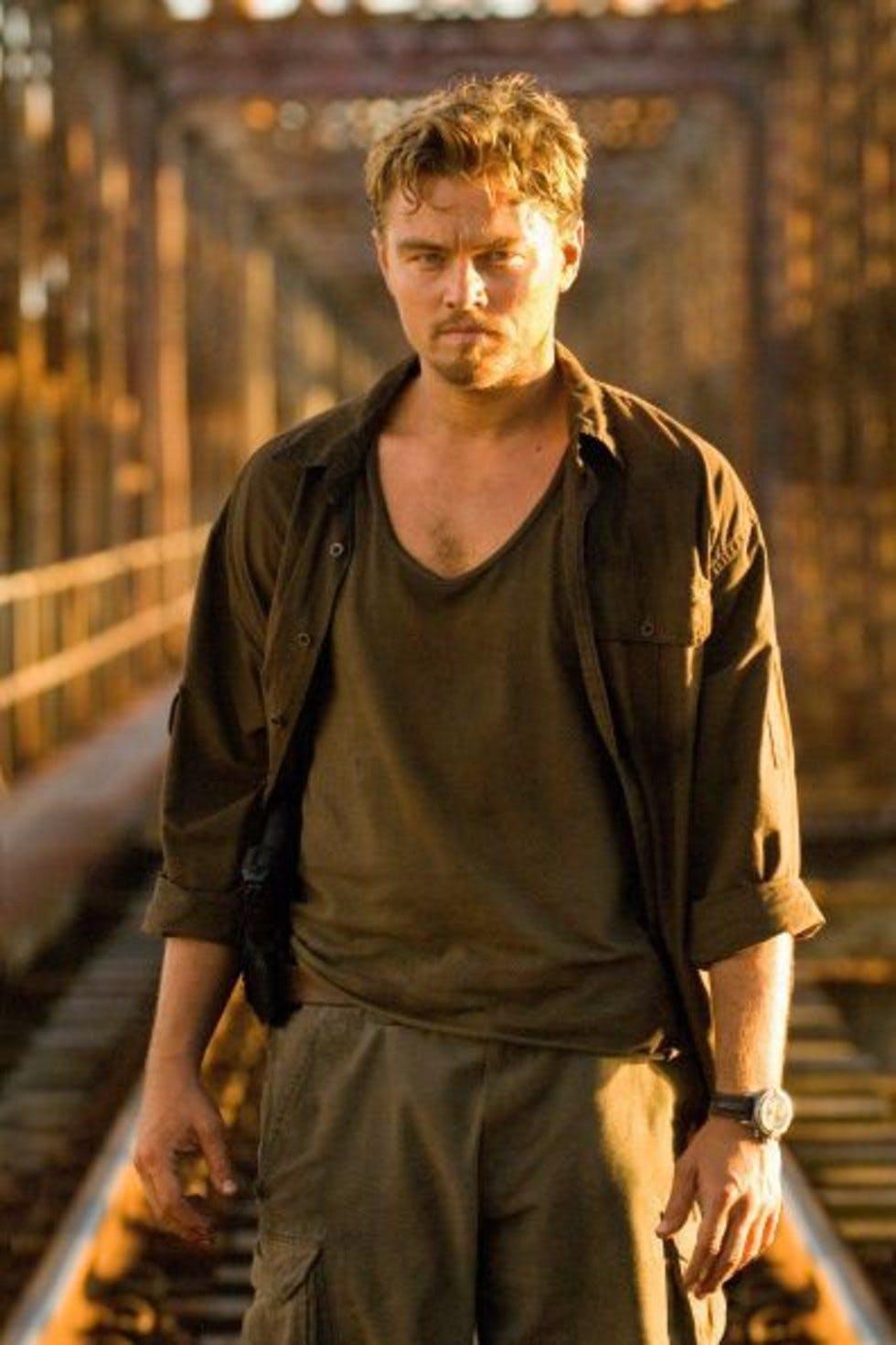 Leonardo DiCaprio wears Breitling in Blood Diamond Movie