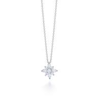 Kwiat Star Pendant Diamond pendant in platinum