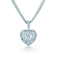 Kwiat Rox Diamond Pendant Diamond pendant in 18k white gold