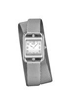 Cape Cod women's watch with stainless steel band and milanese clasp.