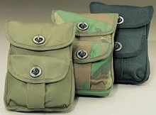 Canvas 2 Pocket Ammo Pouches