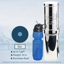 Go Berkey Kit- Portable Berkey Purification System